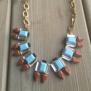 J Crew Statement Necklace Boho Bling